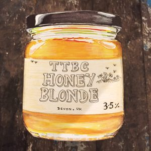 honey-blonde
